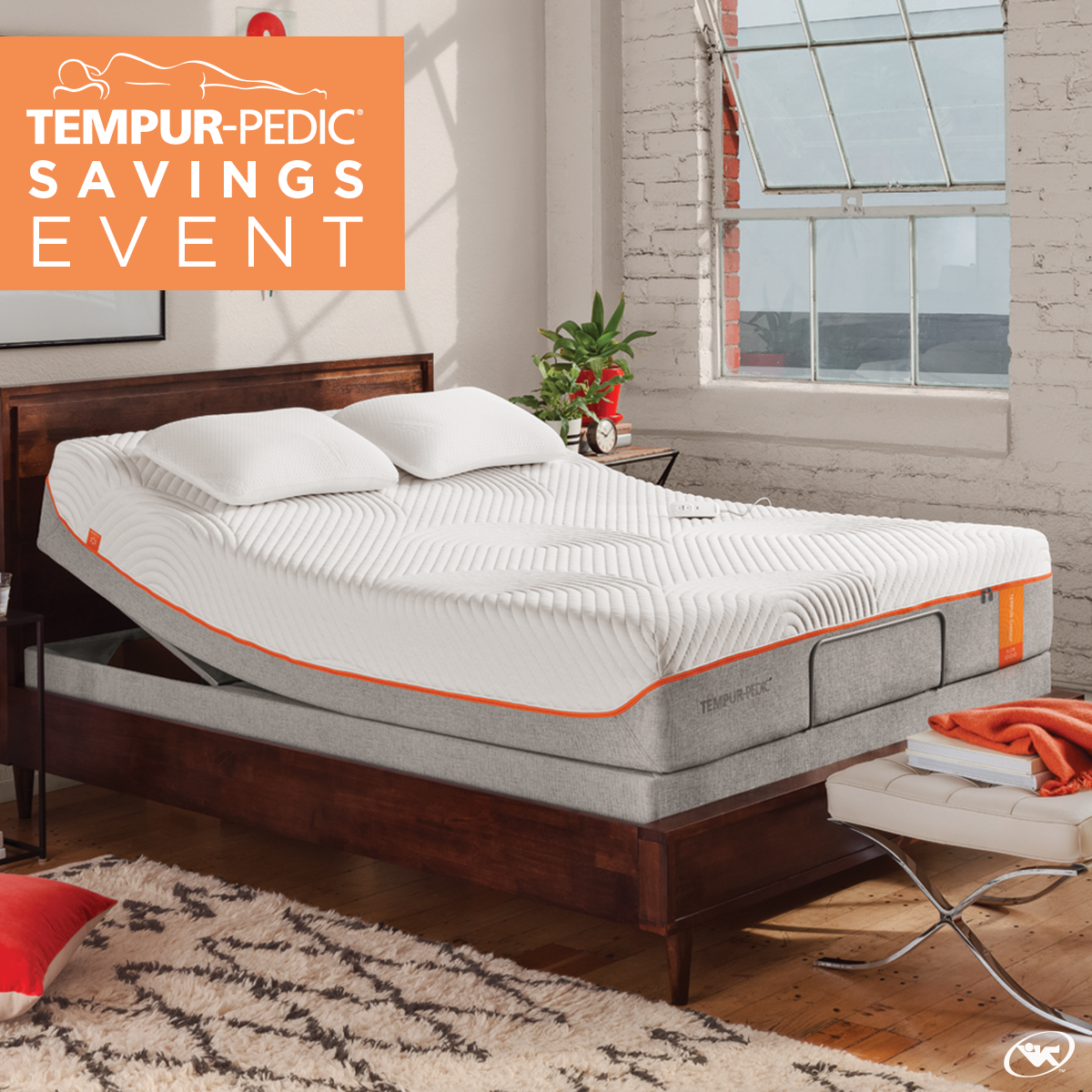 sleep easier throughout the night during our tempur pedic fall
