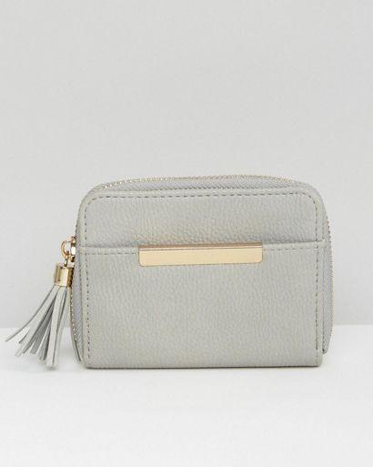 New Look Mini Tassel Purse at asos.com