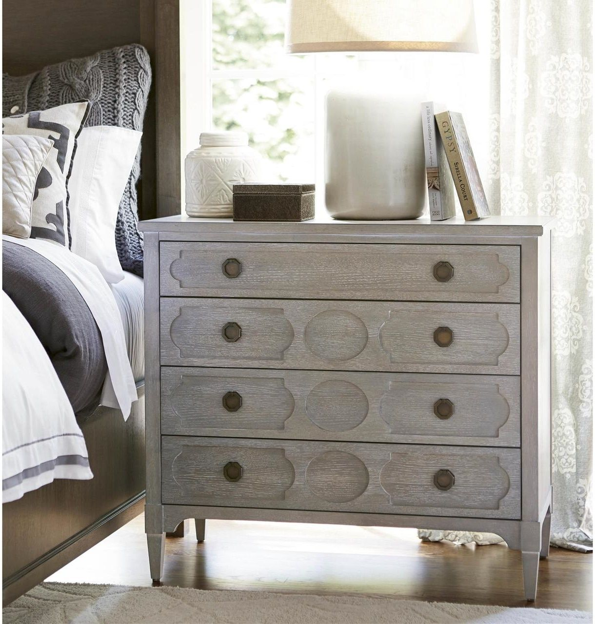 Playlist Vintage Grey Oak 4 Drawers Chest In 2021 Universal Furniture Furniture Bedroom Furniture [ 1280 x 1220 Pixel ]