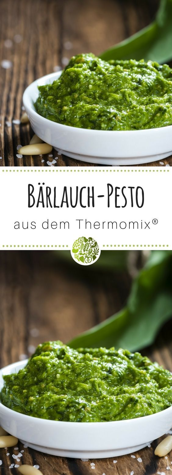 b rlauchpesto aus dem thermomix rezept thermomix. Black Bedroom Furniture Sets. Home Design Ideas