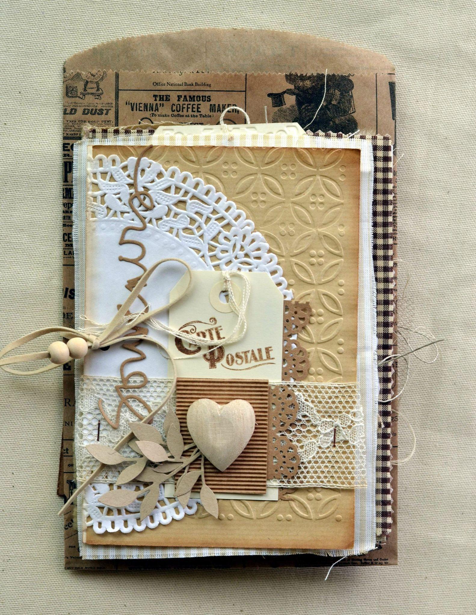 открытка книжка для любимого или рукой