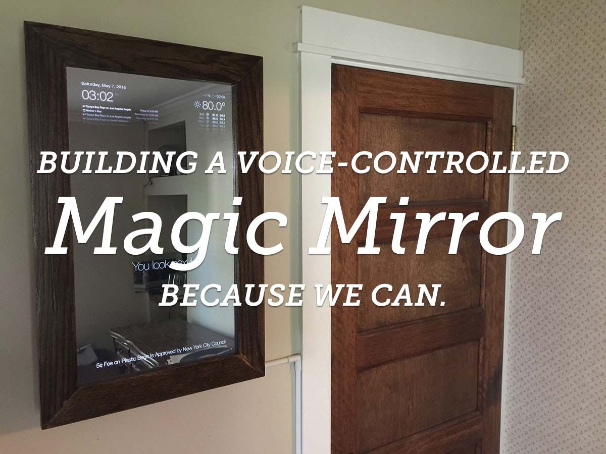 Build a voice controlled diy raspberry pi smart mirror