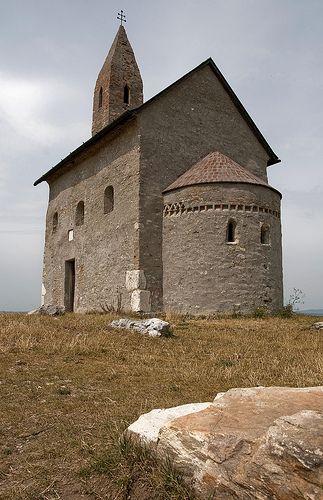 I loved to come here and watch the stars :) Dražovský kostolík, Nitra, Slovakia