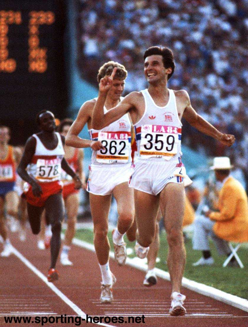 Sebastian Coe - The middle distance of 800 m: An atypic distance