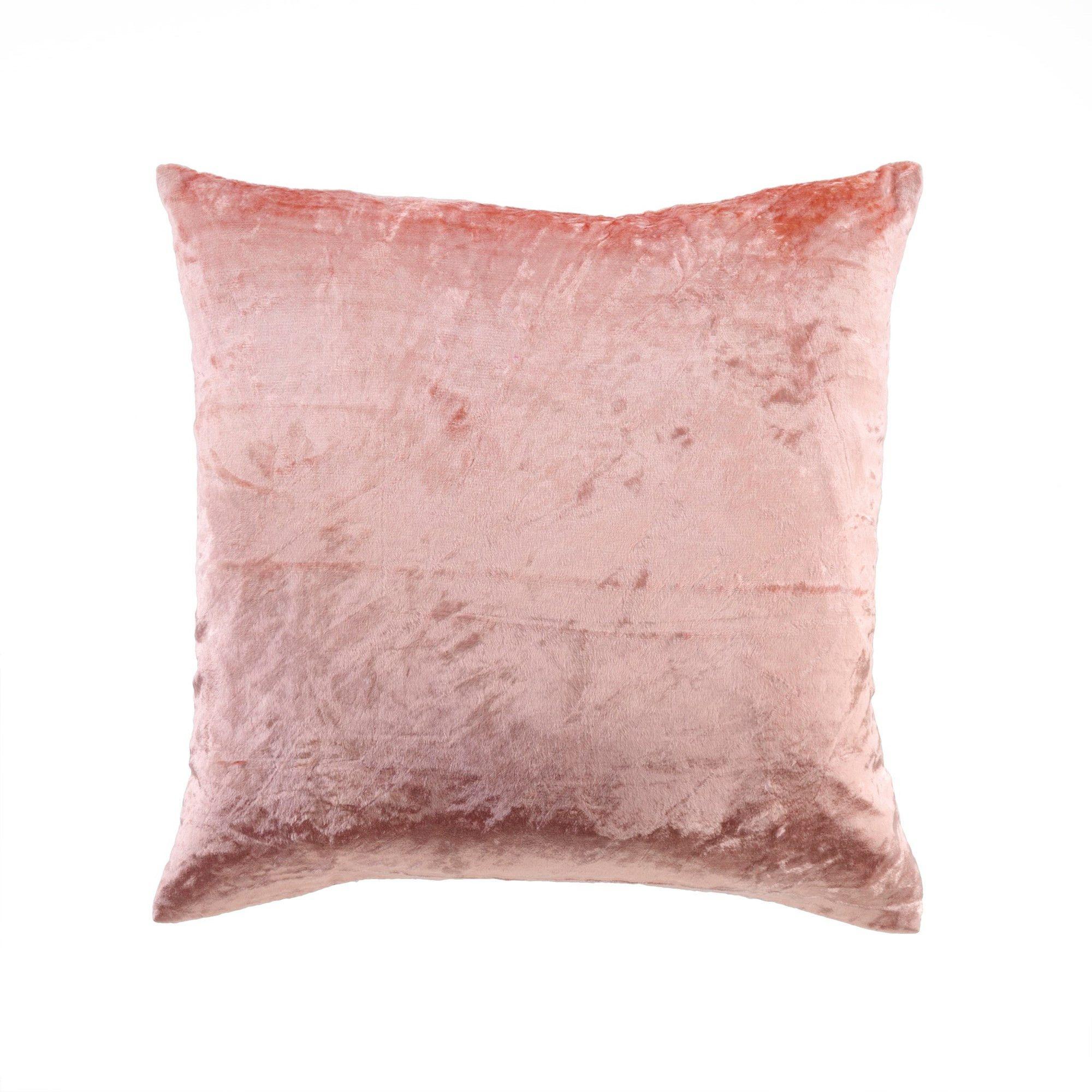 Dusty Rose Velvet Pillow