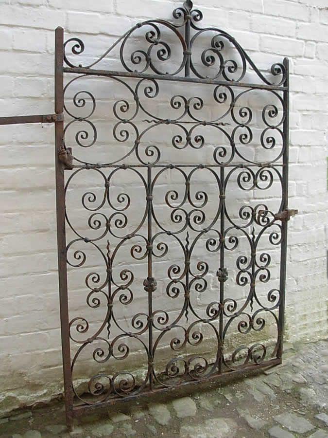 Antique Wrought Iron Garden Gate Garden Wrought Iron Garden Gates Iron Garden Gates Garden Gates