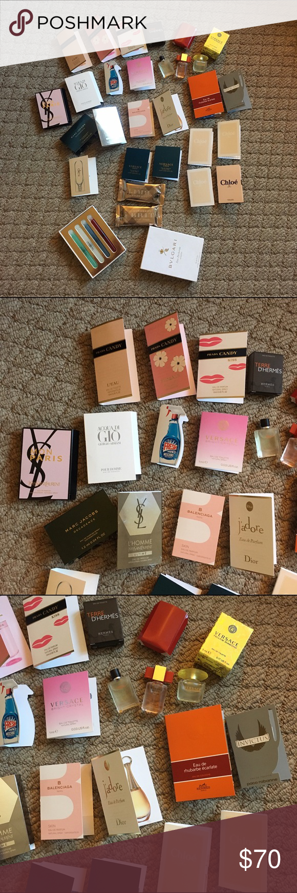 Perfume bundle All new Yves Saint Laurent Makeup