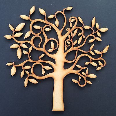 Wooden mdf tree shape craft blank, wedding, #guestbook, #decoupage #family tree,  View more on the LINK: http://www.zeppy.io/product/gb/2/231610194143/