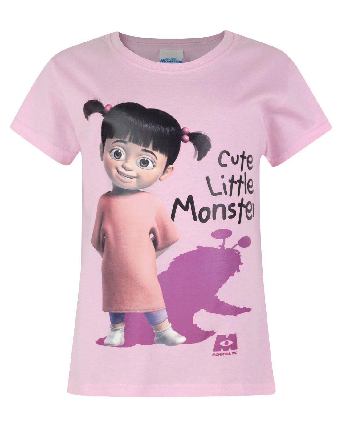 Official Monsters Inc Boo Cute Little Monster Girl\'s T-Shirt ...