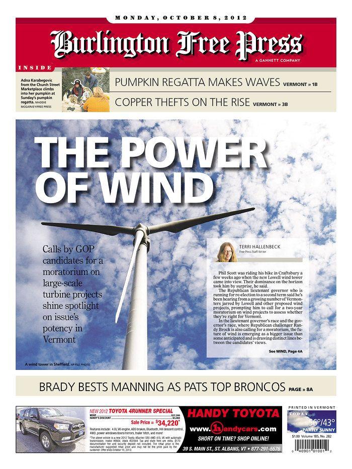 Today S Free Press Front Page Http Www Burlingtonfreepress Com