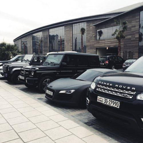 Photo of Matte black luxury cars park #luxurylifestyle #luxurygoals #luxurydream #luxurylife
