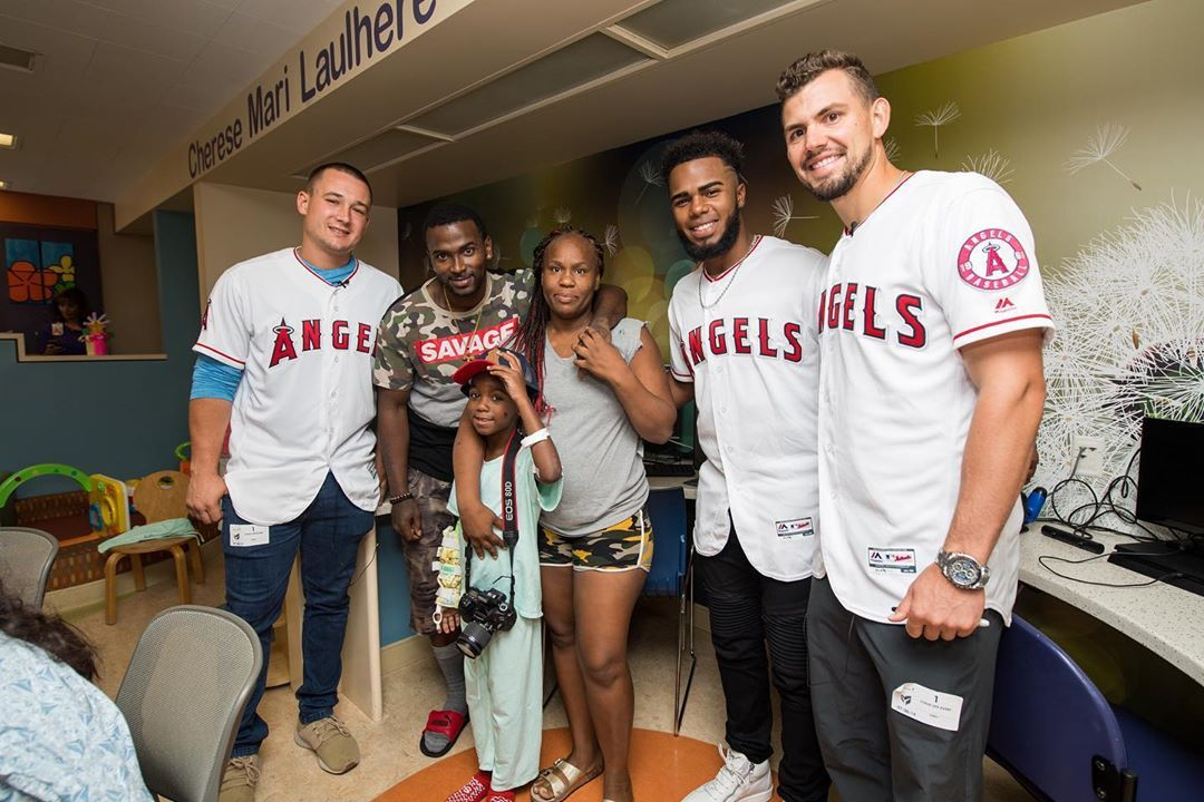 Los Angeles Angels Biggerthanbaseball Tayjcole Mattthaiss21 And Luisrengifo43 Had A Blast Del Los Angeles Angels Los Angeles Having A Blast