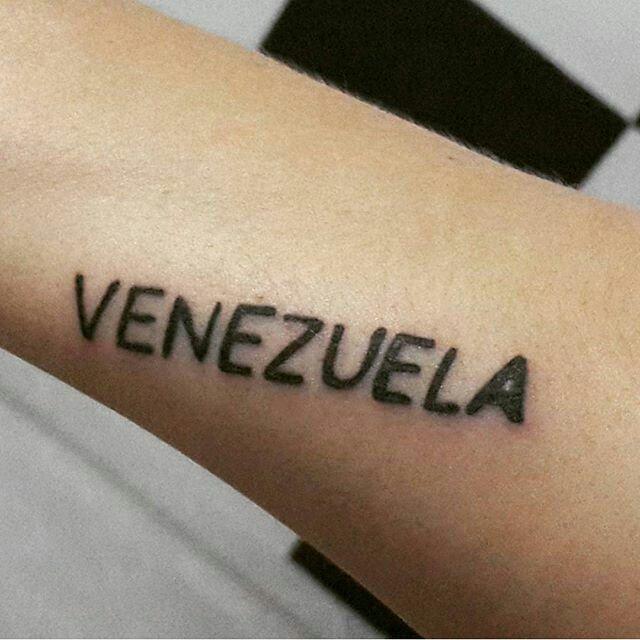 Cada centímetro de dolor ha valido la pena ... #Venezuela #6D