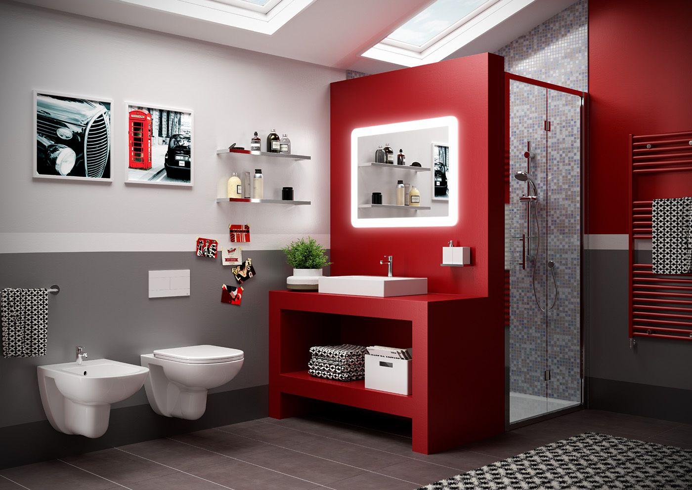 Bath interior on behance baños pinterest baths interior bath