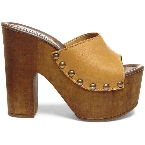 a158840e564 Steve Madden Women's Binding Platform Wedges ($60) ❤ liked on ...