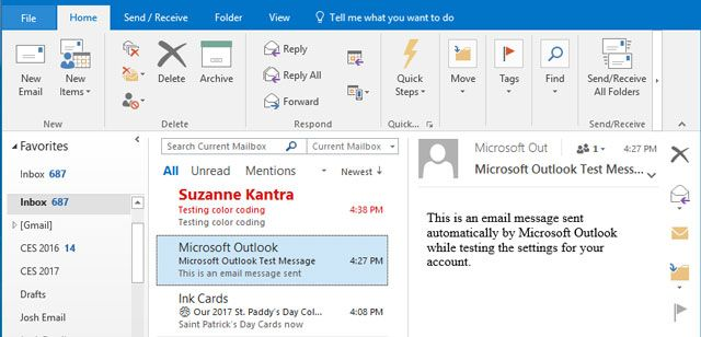 Make Important Email Standout in Outlook with Color Coding | Coding, Color  coding, Job inspiration
