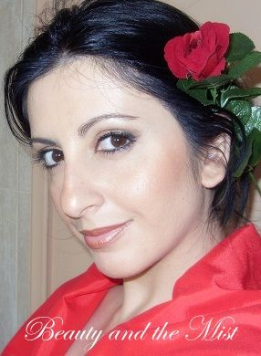 Beauty and the Mist - everything about beauty: Spanish Bridal makeup