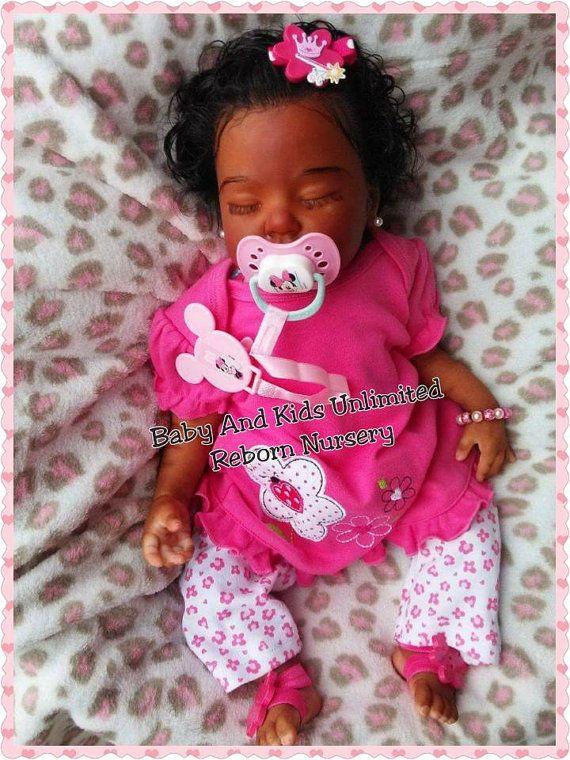 Newborn Reborn Aa Baby Ethnic Infant Reborn Baby African