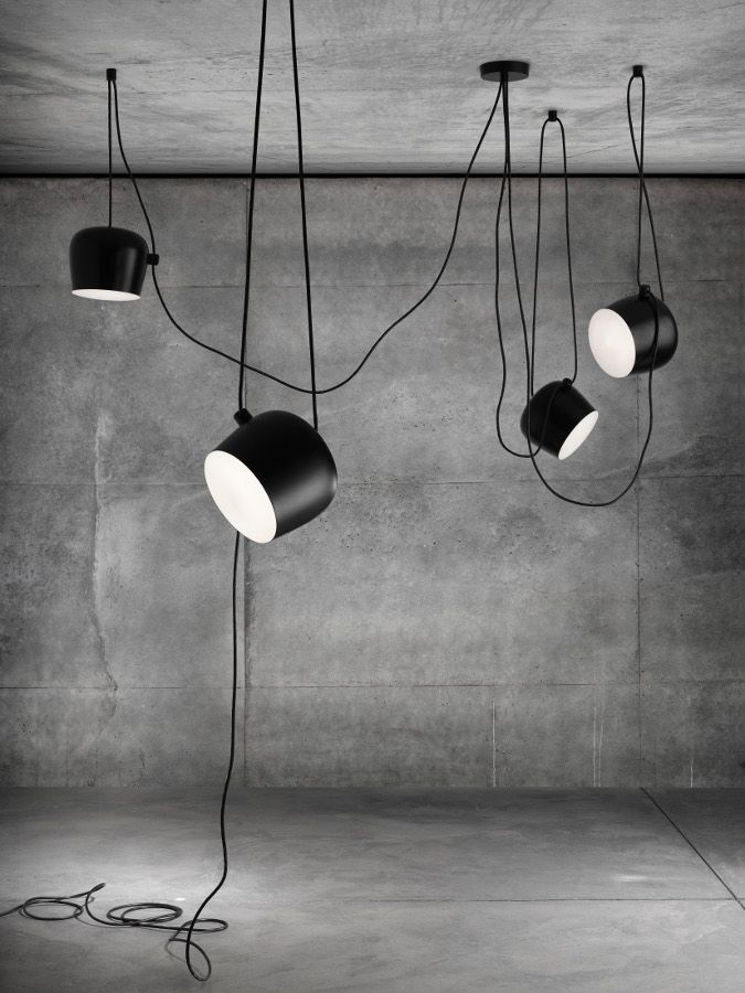 Flos at Stockholm Furniture Fair The new decorative lamps Lights - designer leuchten extravagant overnight odd matter