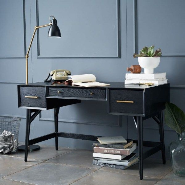 Greatest Diy Mid Century Modern Fashionable Desk Build Your Own Mid Century Desk Handmade Mid Modern Desk Furniture Mid Century Desk Mid Century Modern Desk