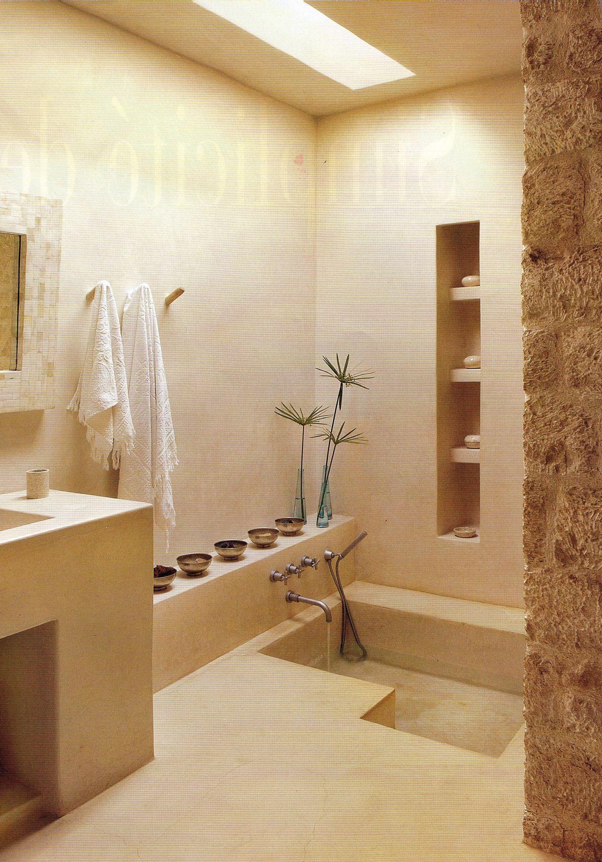 Lichtkoepel in badkamer lichtkoepels pinterest beste for Tadelakt bathroom ideas