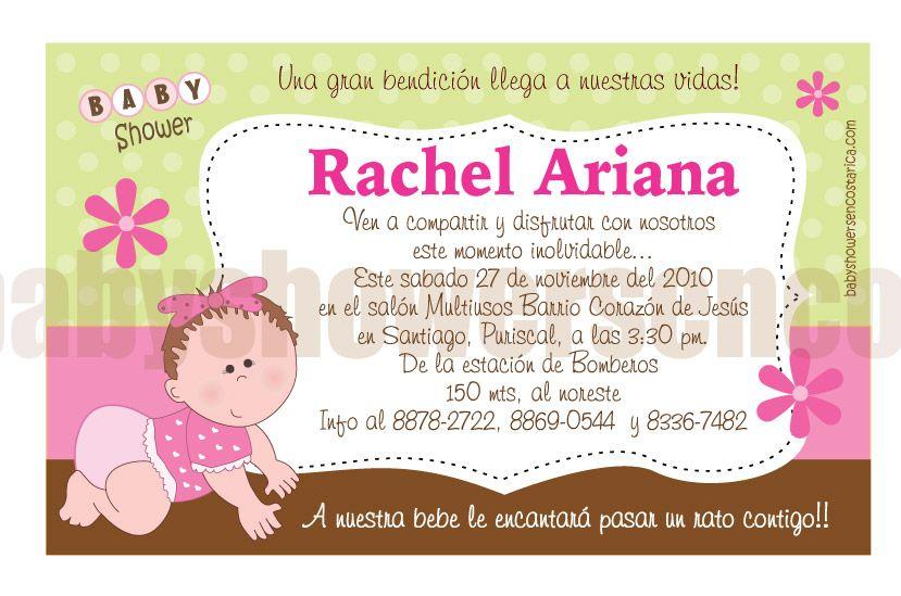 Invitaciones De Baby Shower De Niño Para Editar