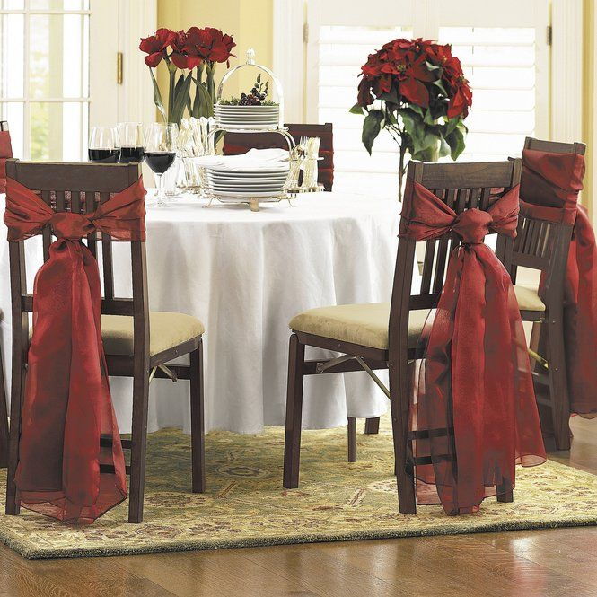 Decorate Your Dinning With These Lovely Christmas Chair: Elegant Setting For A Holiday Brunch (With Images