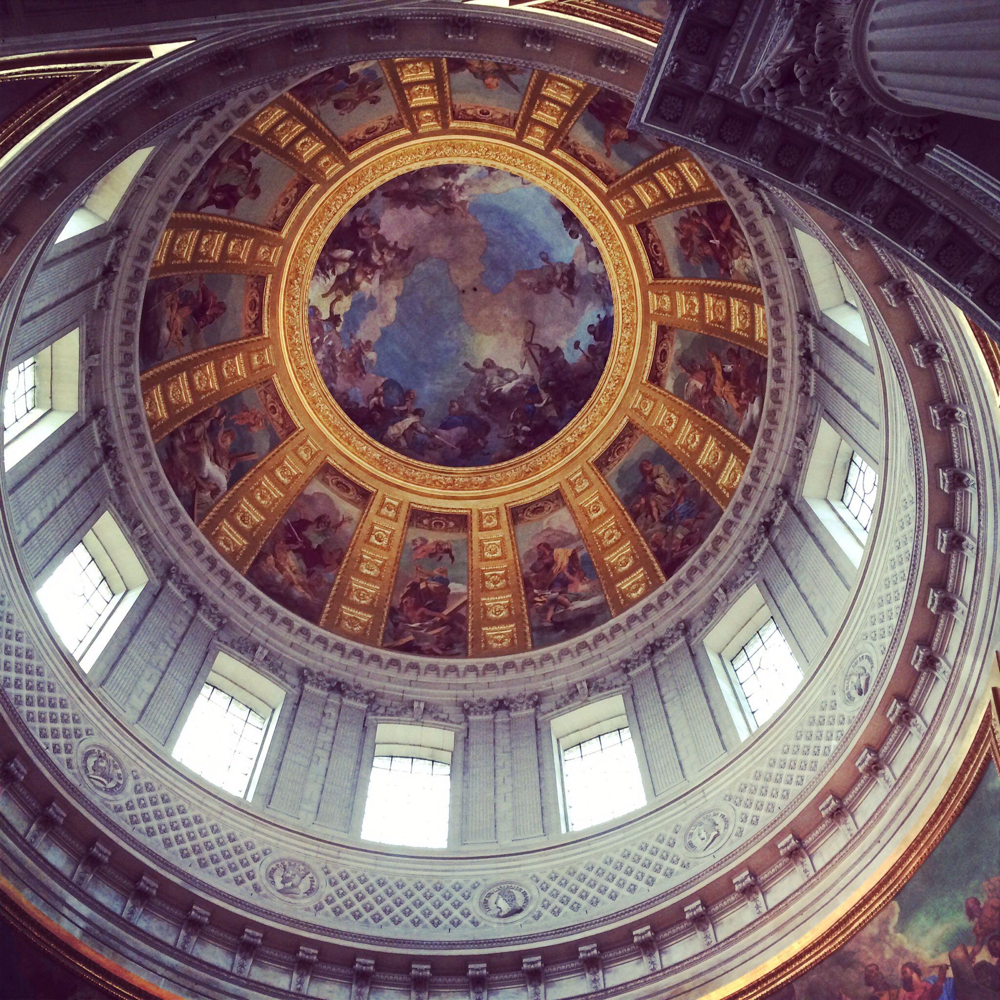 Napoleon's Tomb, interior shot of the dome