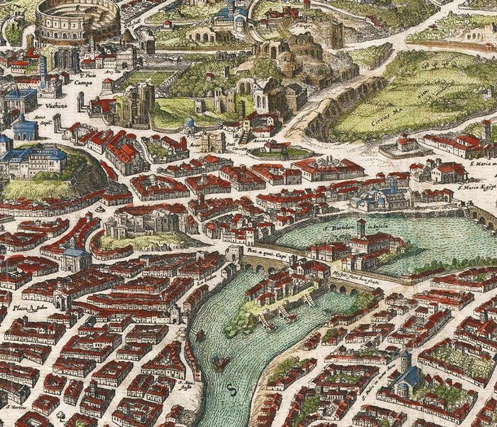 Old Map of Rome Roma, Italy 1652 Antique Vintage Italy ... Old Maps Of Rome on old map fl, old medieval europe map, 19th century rome, old world map, old waikiki hotels, old maps of kentucky, old map italy, imperial fora rome, old riviera hotel las vegas, medieval rome, old mesopotamia map, old rome restaurants, old map wallpaper, greece and rome, old map with compass, old hotel rome, republican rome, ancient rome, old map template, old map georgia,