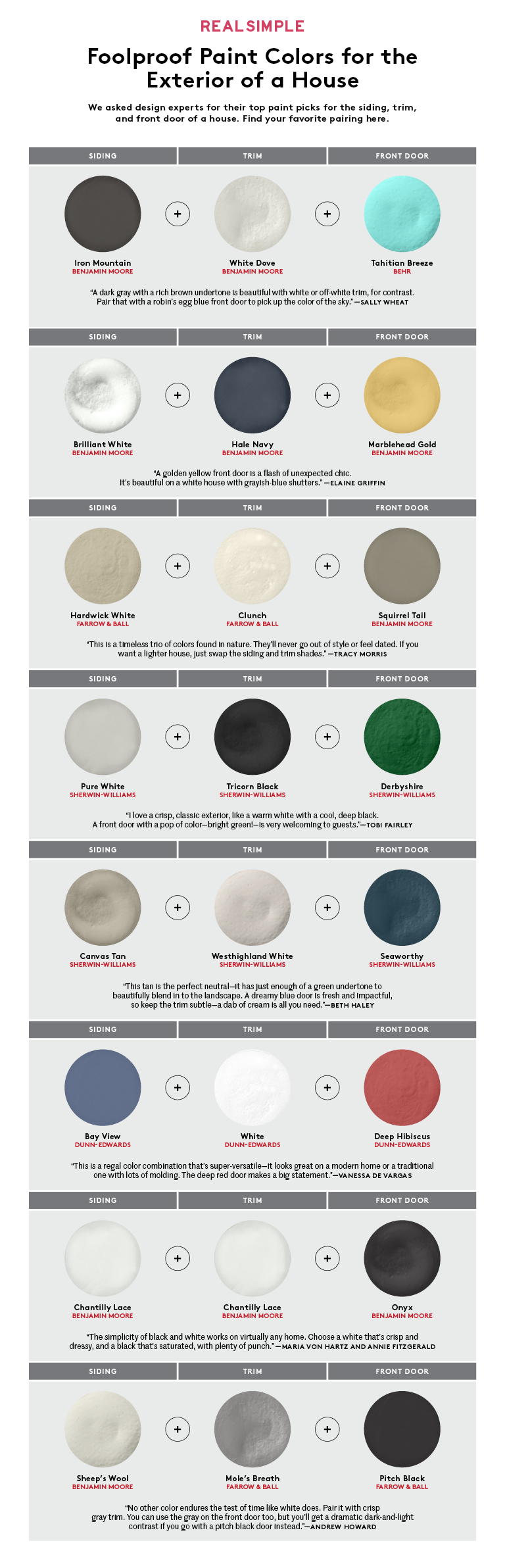 How to Pick the Perfect Paint Colors for Your House Exterior ...
