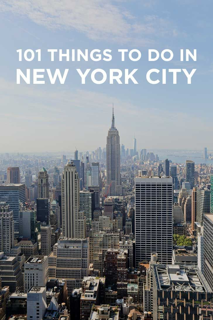 Ultimate New York City Bucket List (101 Things To Do In