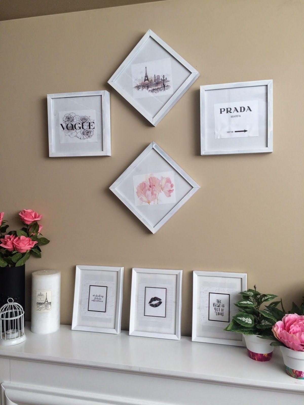 kalyn nicholson | midnightmind: DIY Spring Room Decor
