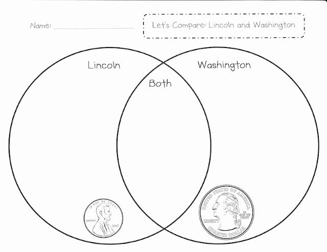 lincoln and washington venn diagram