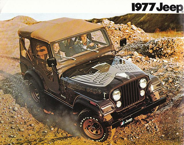1977 Jeep Cj 5 Golden Eagle Jeep Cj Jeep Jeep Golden Eagle