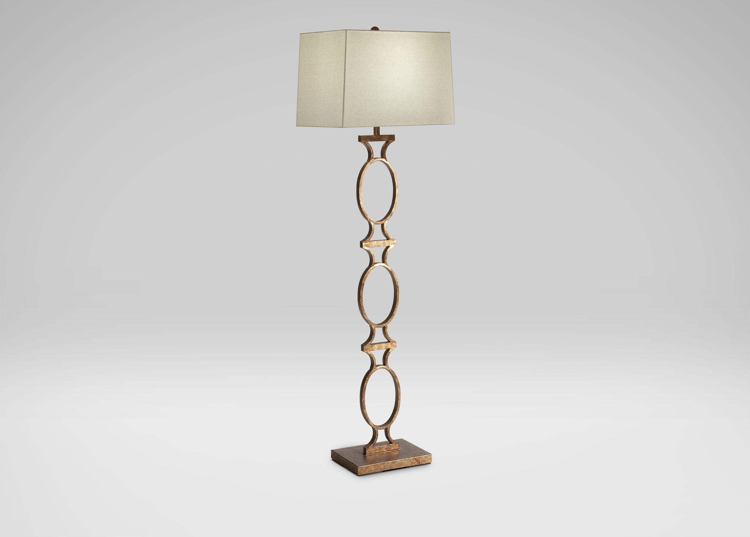 Owen ringed floor lamp ethan allen arcadia entry study owen ringed floor lamp ethan allen aloadofball Gallery