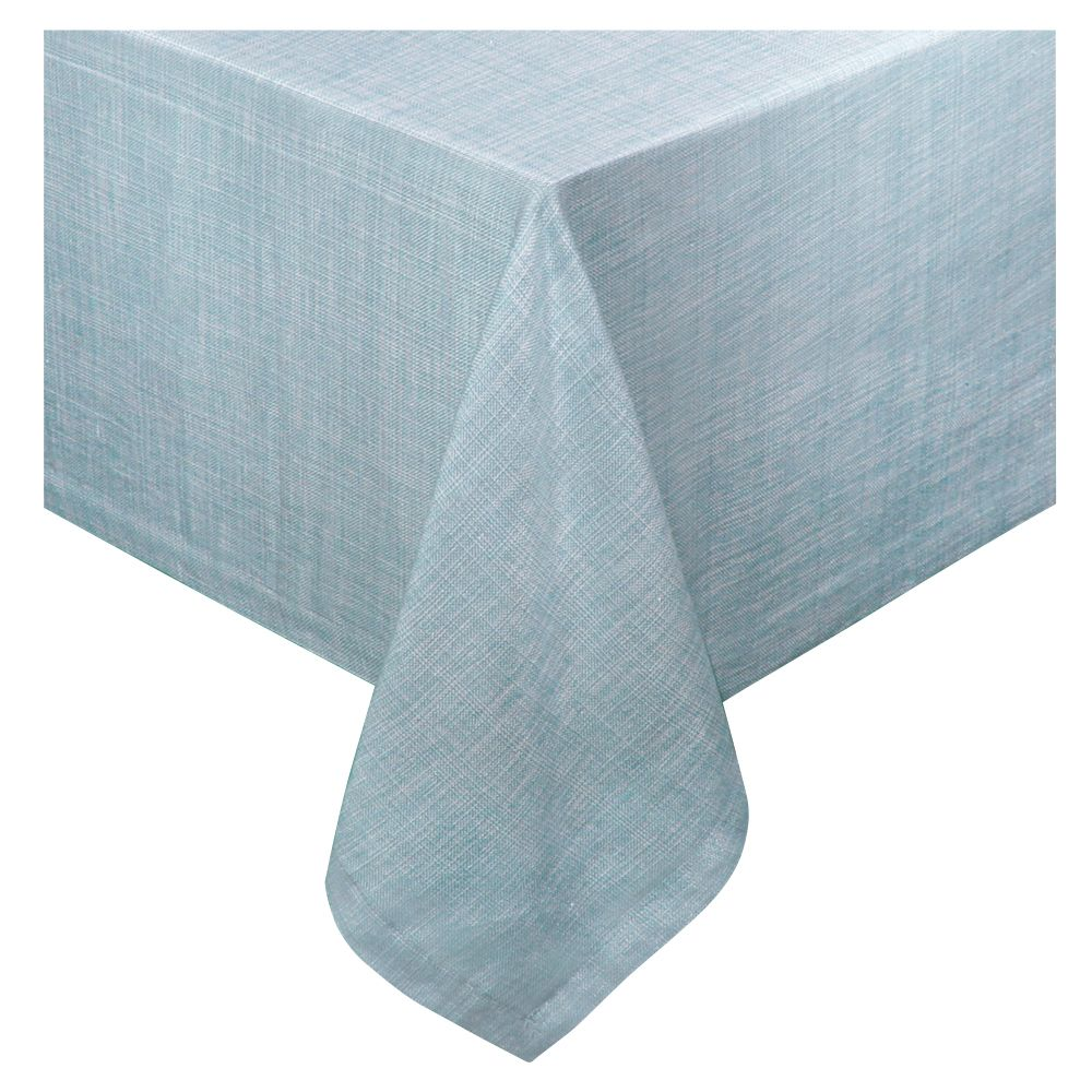 Chambray 60 X 120 Tablecloth Vinyl Tablecloth Table Cloth Sweet Home Collection