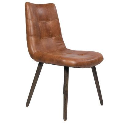 Joseph Allen Alamo Side Chair Color: Brown