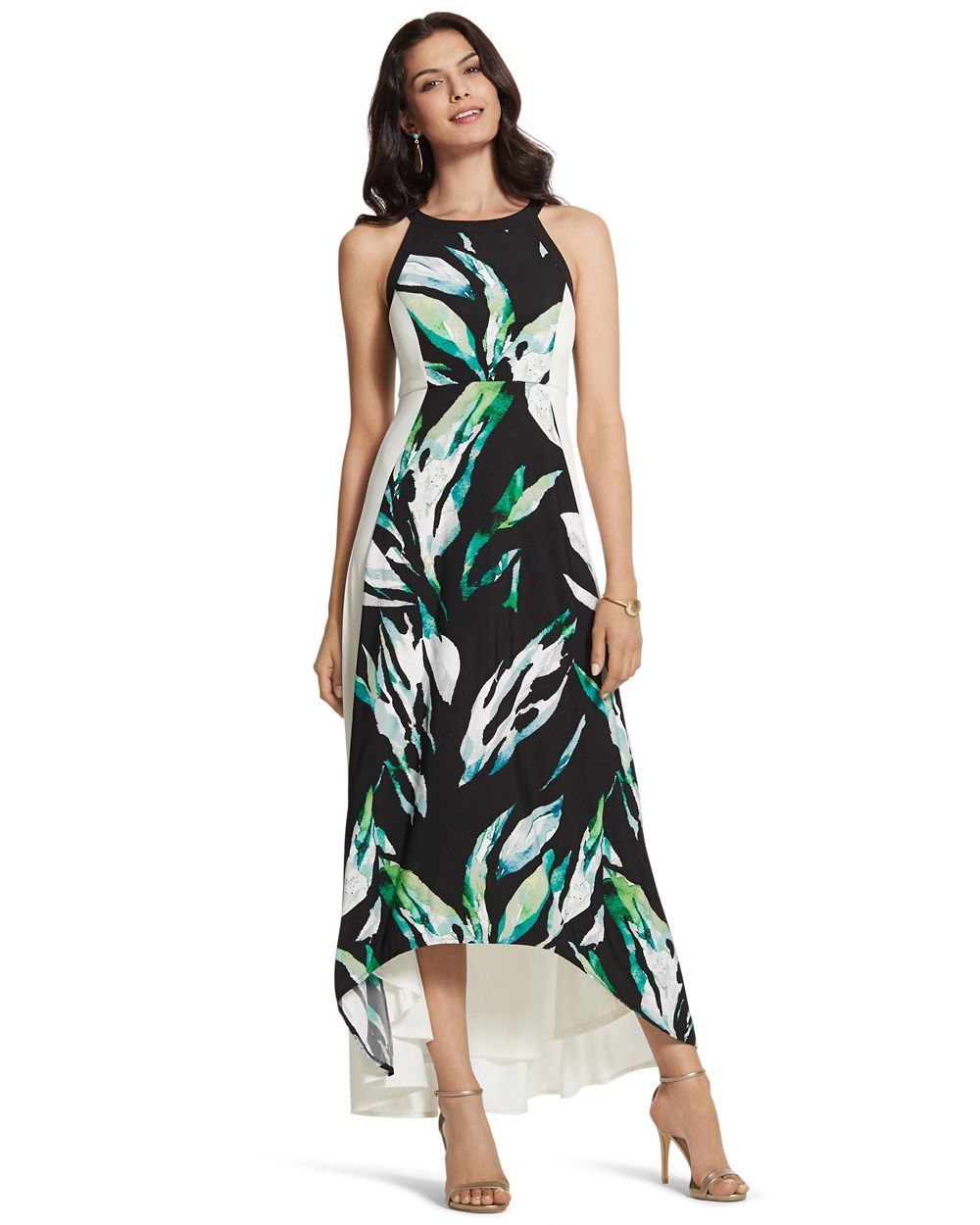 786b8ce4415 Chico s Women s Palm Passion Maxi Dress