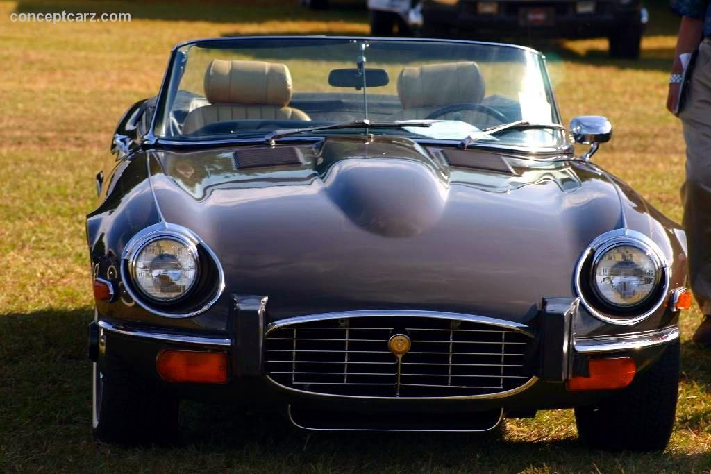 Beautiful 1974 Jaguar XKE E Type