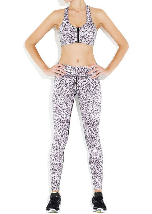 9cb3a70e5a7f54 NEW: Printed Running Tights from Rockell In Leopard Print | My Style ...