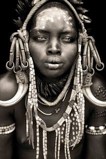 Mursi (Mursu) Tribe - Omo Valley, Southern Ethiopia