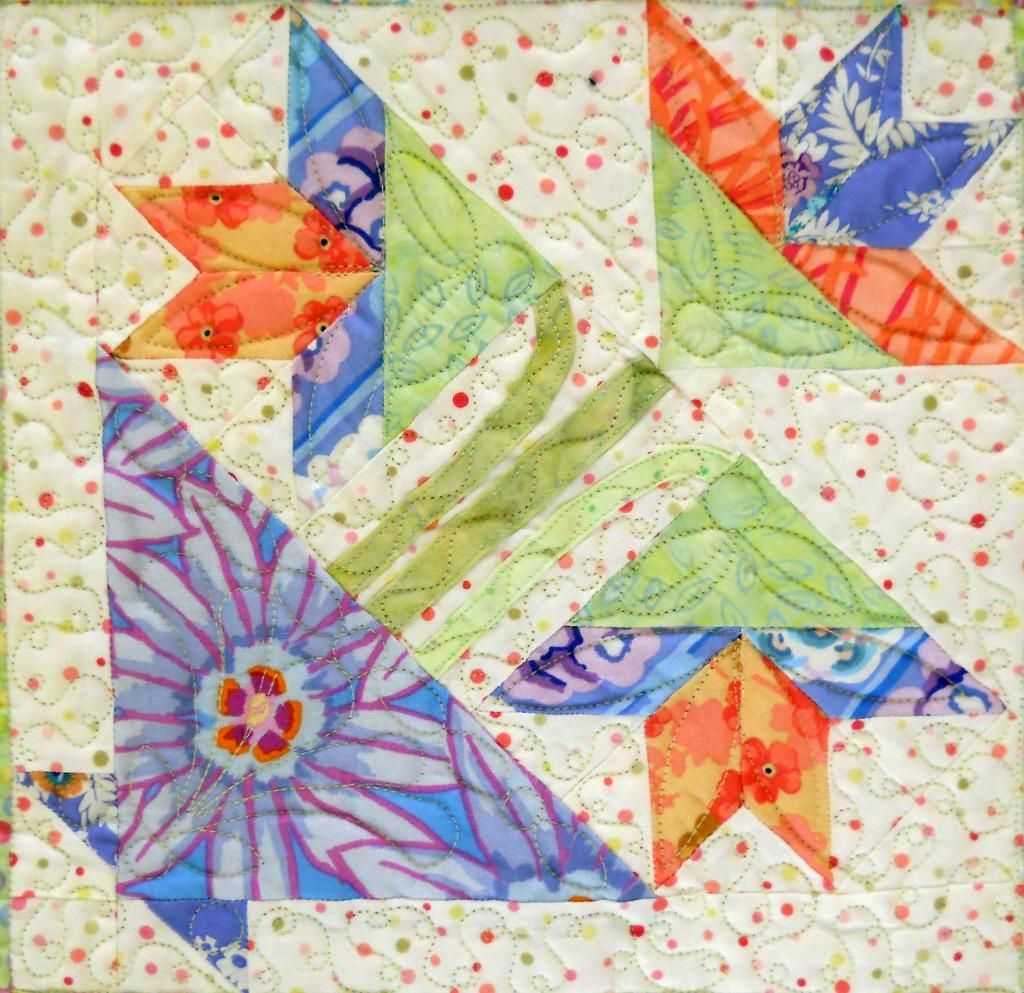 Potted Flower Block Sew Into Quilting Pinterest Basket Quilt
