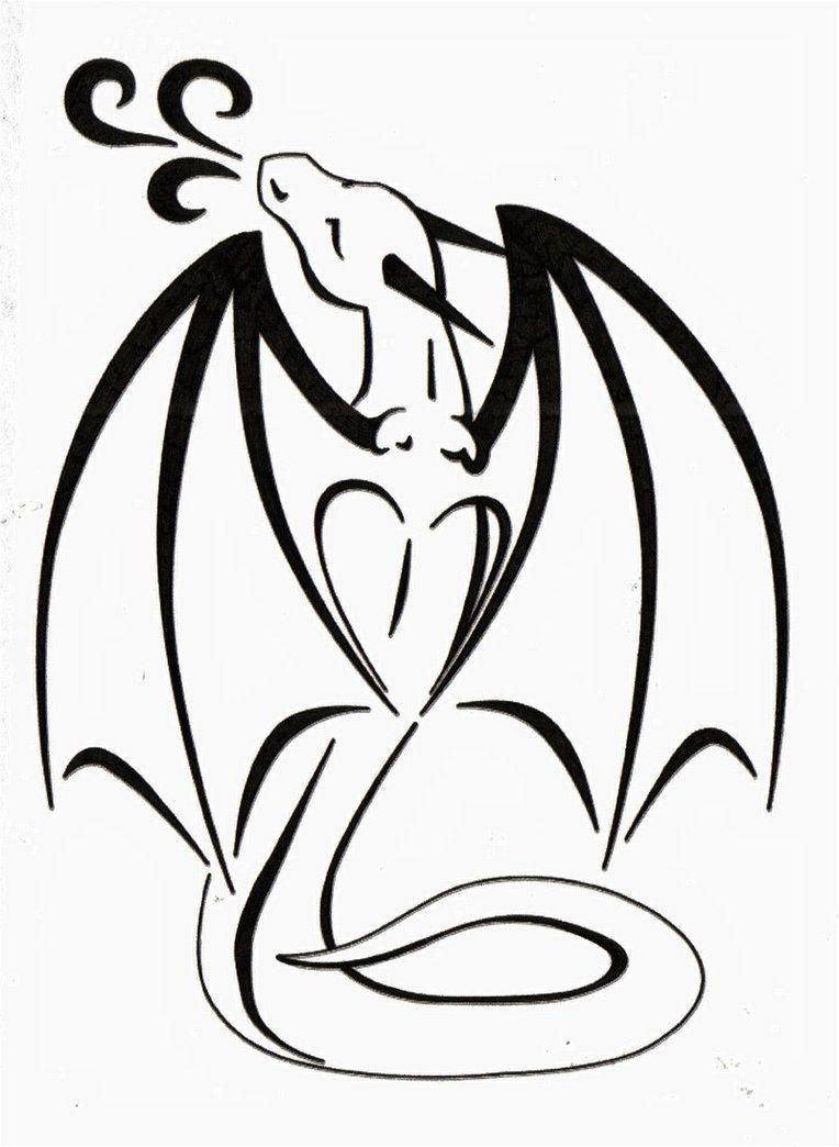 Dragon Love Tattoo by *TsukiTsu on deviantART Small