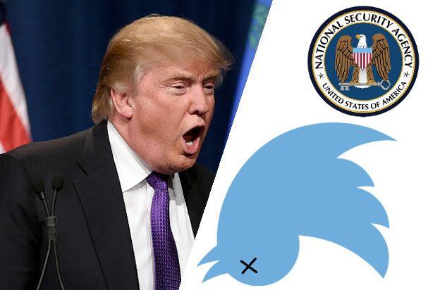 """Twitter, NSA Collaborate on """"Trump-Safe"""" Twitter Account #LallaGatta via @LallaGatta"""
