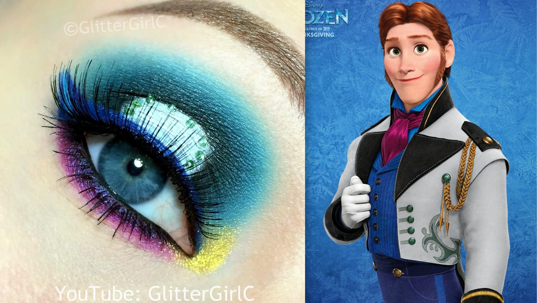 Disneys Frozen Prince Hans Makeup Tutorial Youtube Channel Full