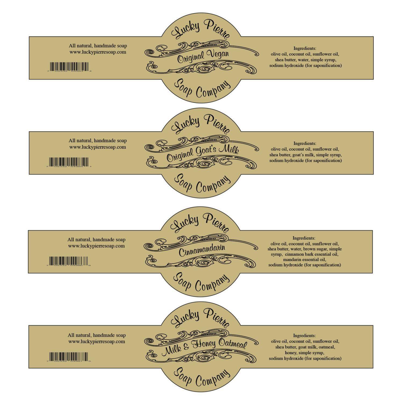 Free Printable Soap Label Templates Free Printable Cigar Band Soap Label Template Soap Labels Template Printable Label Templates Diy Soap Labels