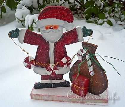 Wooden Santa Patterns