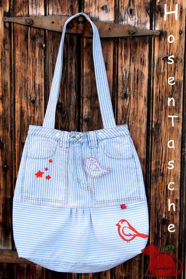 Hosentasche Upcycling Der Lieblingshose Taschen Stofftaschen Hosentaschen