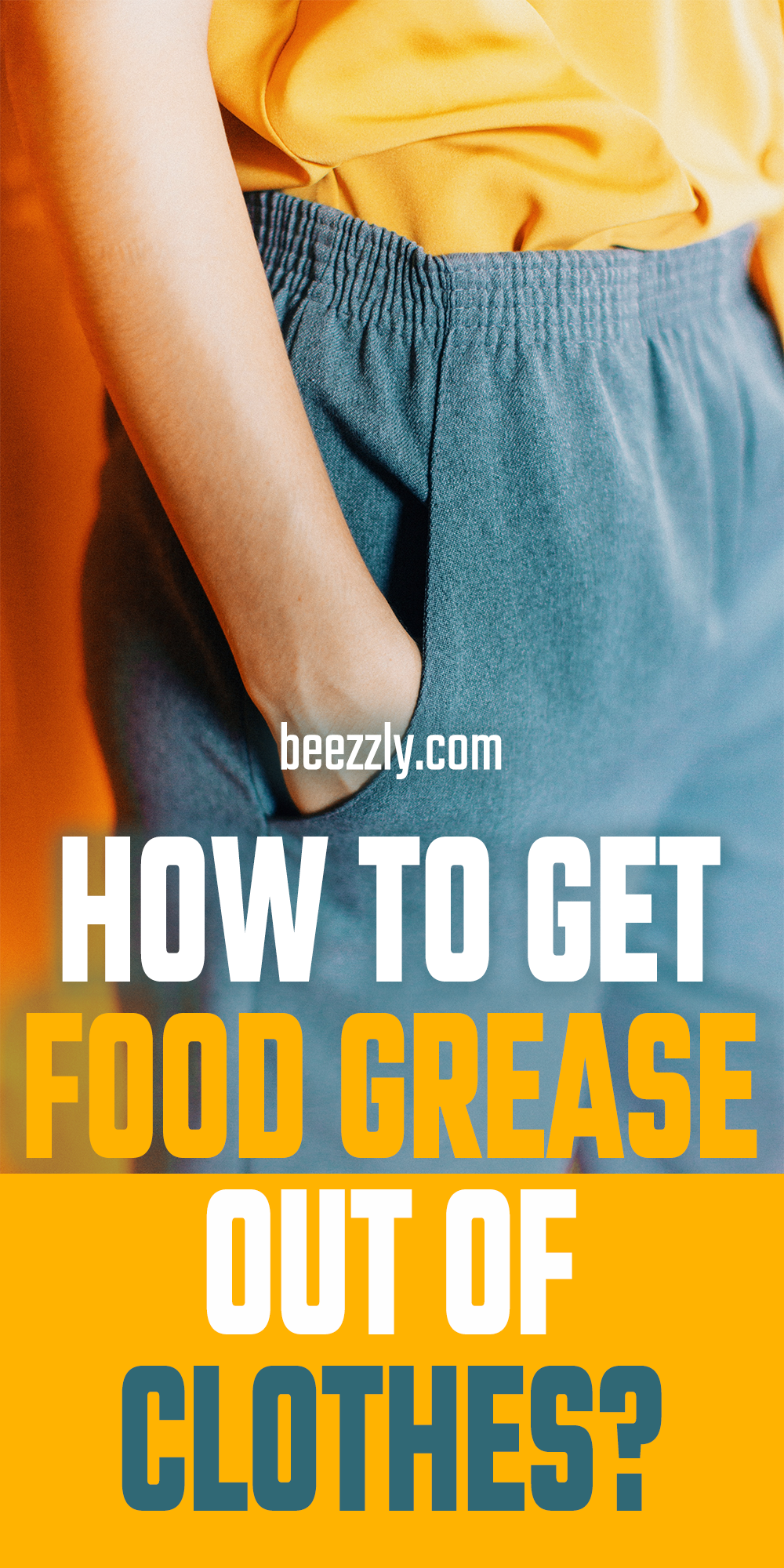 How To Get Food Grease Out Of Clothes Tough Stain Diy Household Tips Remove Grease Stain
