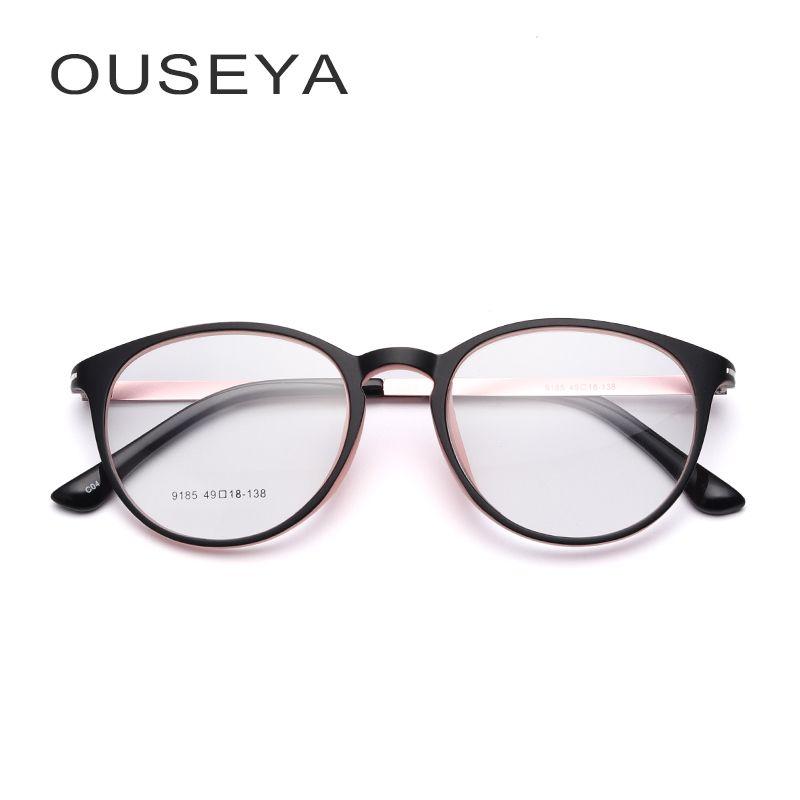 TR90 armação para oculos de grau feminino Olho De Gato Gatinho Moda de  Grandes Dimensões Oval acf6499f34